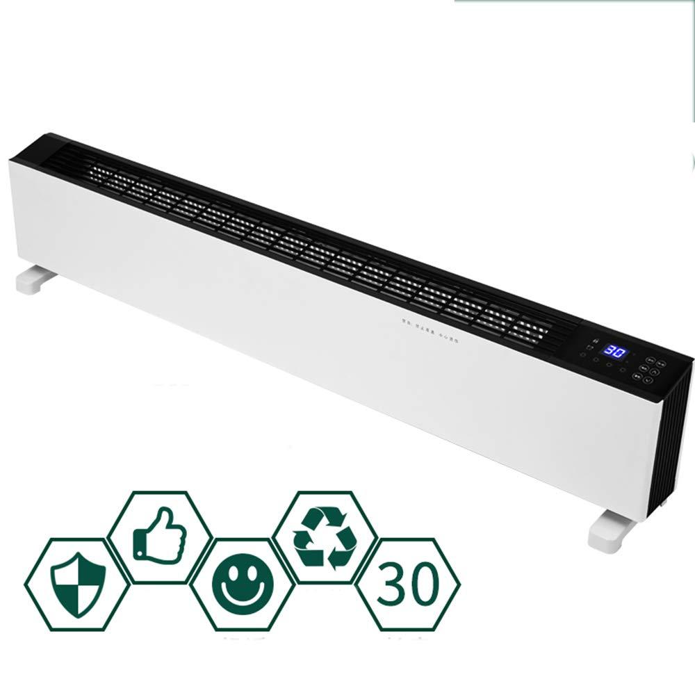 Acquisto Riscaldatore LJHA, Battiscopa Home Smart WiFi Bagno Ufficio Convezione Riscaldamento Elettrico Risparmio energetico Bianco Funzionamento App Intelligente Alluminio Ala Riscal Prezzi offerte