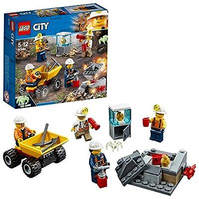 Lego 60121 - City - Jeu de construction - Le Camion d'Exploration du Volcan