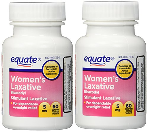 Women S Laxative Tablets Bisacodyl 5mg 120ct Two 60ct