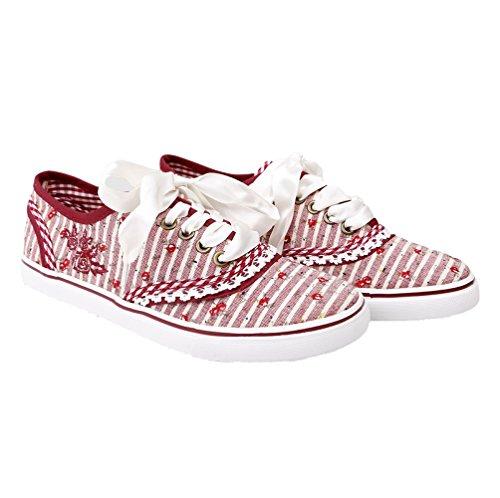 Kruger Signore Madl Scarpa Da Tennis Rosso | Sneaker Costume | Shoe Costume | Modello: 4432 (rosso 9) |