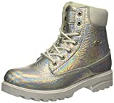 Lugz Women's Empire Hi CR Fashion Boot, Silver Opal/White, 8 M US