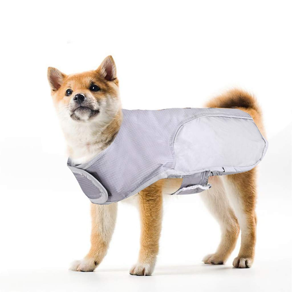 Adjustable Outdoor Waterproof Pet Dog Raincoat Safety Coat Jacket with Reflective Safe Strips Snowsuit for Small//Medium//Large Dog,Like Teddy Chihuahua Hefine Warm Pet Clothes