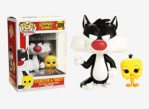 Funko Pop! Animation: Looney Tunes - Sylvester & Tweety Collectible Toy ()