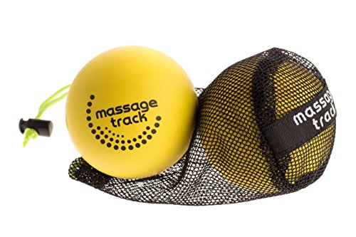 Oversized Lacrosse Ball Set for Myofascial Release, Mobility & Physical Therapy - Great Back Massage Balls