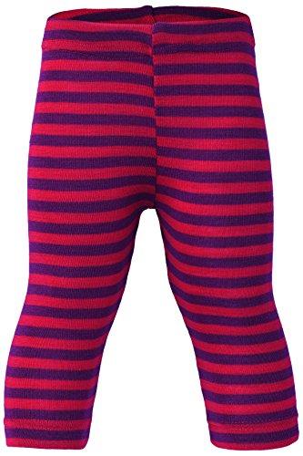 Engel Pants Merino Wool Silk Baby Leggings Organic eco 72 3550 (24-36 Months, Red/Orchid)