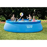 Intex 15ft X 42in Easy Set Pool Set with Filter Pump, Ladder, Ground Cloth & Pool Cover