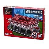 Nanostad ( nano stud ) San Siro Stadium ( Giuseppe Meazza ) 3D puzzle (AC Milan package color : Red )