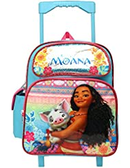 Disney Moana Pua Heihei 12 inches Toddler Mini Rolling Backpack