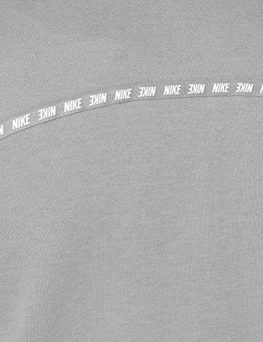 da Grey donna Nike con Felpa white Atmosphere cappuccio 885371 nwXqgxP1C0