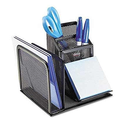 Charmant ELDON OFFICE PRODUCTS 22171 Wire Mesh Desk Organizer With Pencil Storage, 5  3/4