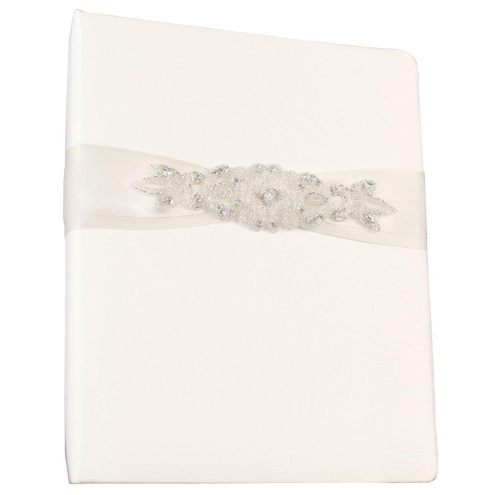 Ivy Lane Design Wedding Accessories Memory Book, Adriana, White by Ivy Lane Design