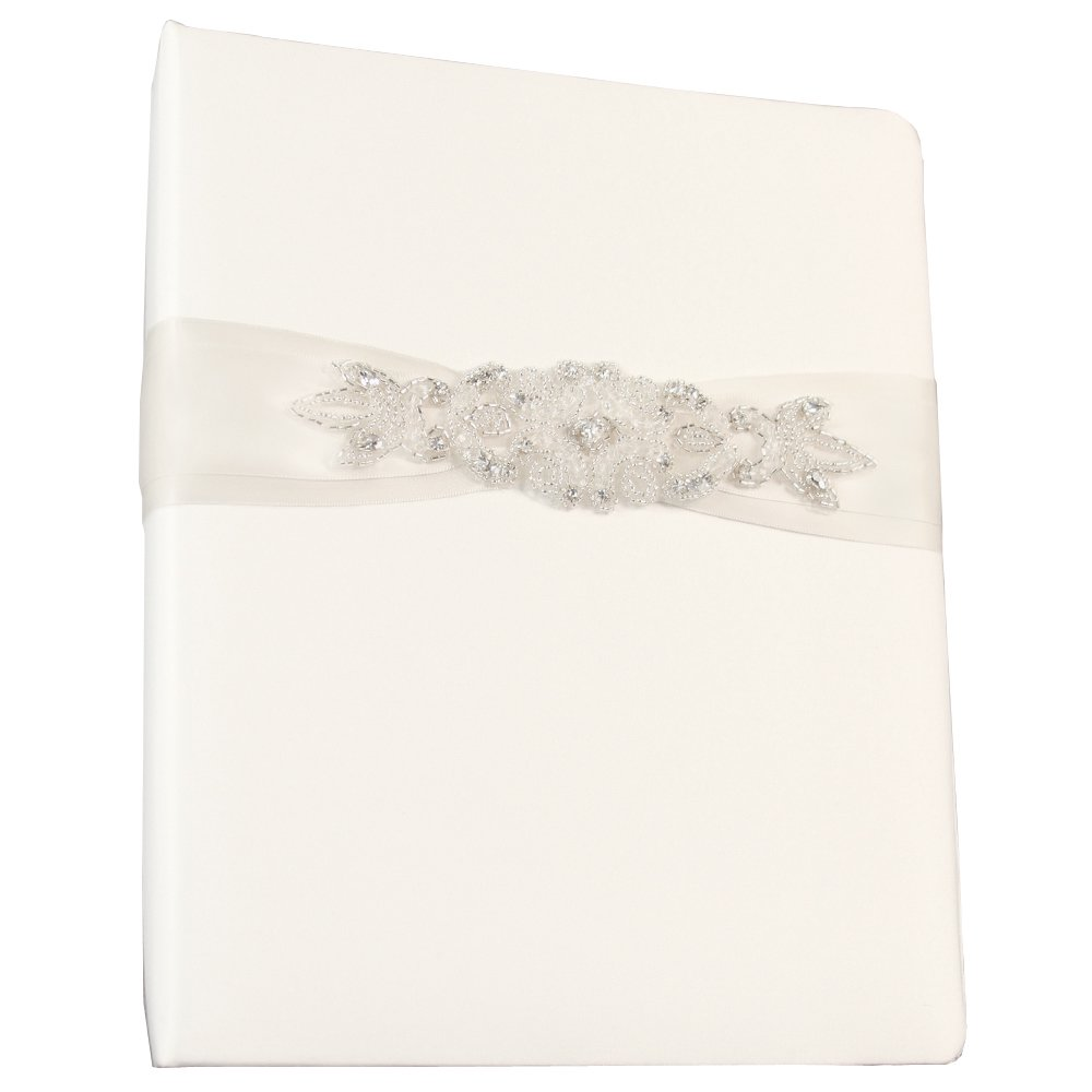 Ivy Lane Design Wedding Accessories Memory Book, Adriana, White