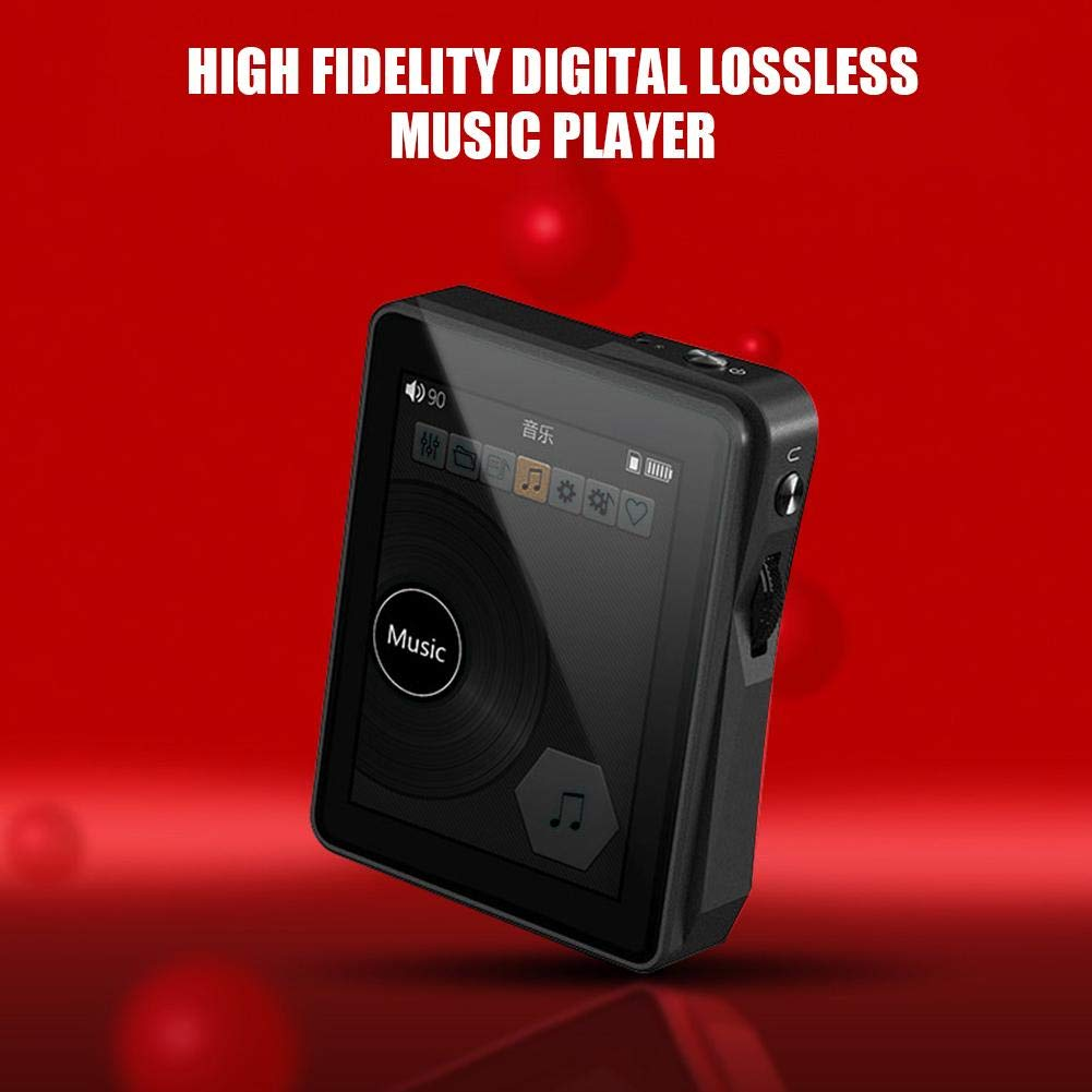 HiFi MP3 Player, Portable Mini High Fidelity MP3 Digital Music Player High Resolution Lossless Sound HD Audio Player Screen Display by Pomya (Image #6)