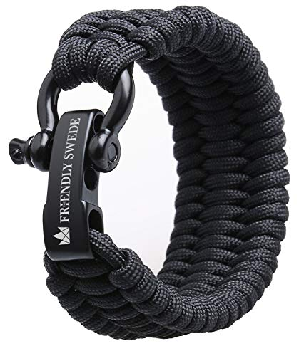 The Friendly Swede Trilobite Extra Beefy 550 lb Paracord Survival