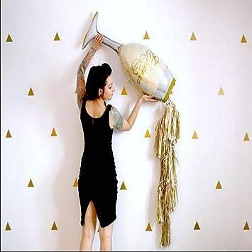 Balloons 5 set Grande Champagne Botella de Vino Copa Foil Globo de Oro de la borla de la boda de la fiesta de cumpleaños Decoración Suministros: Amazon.es: ...