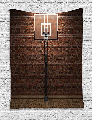 Tapestry Ambesonne Basketball Training Exercising
