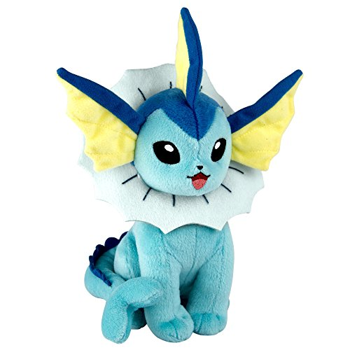 - Tomy Pokemon 8 Inch Plush in Display Box - Vaporeon