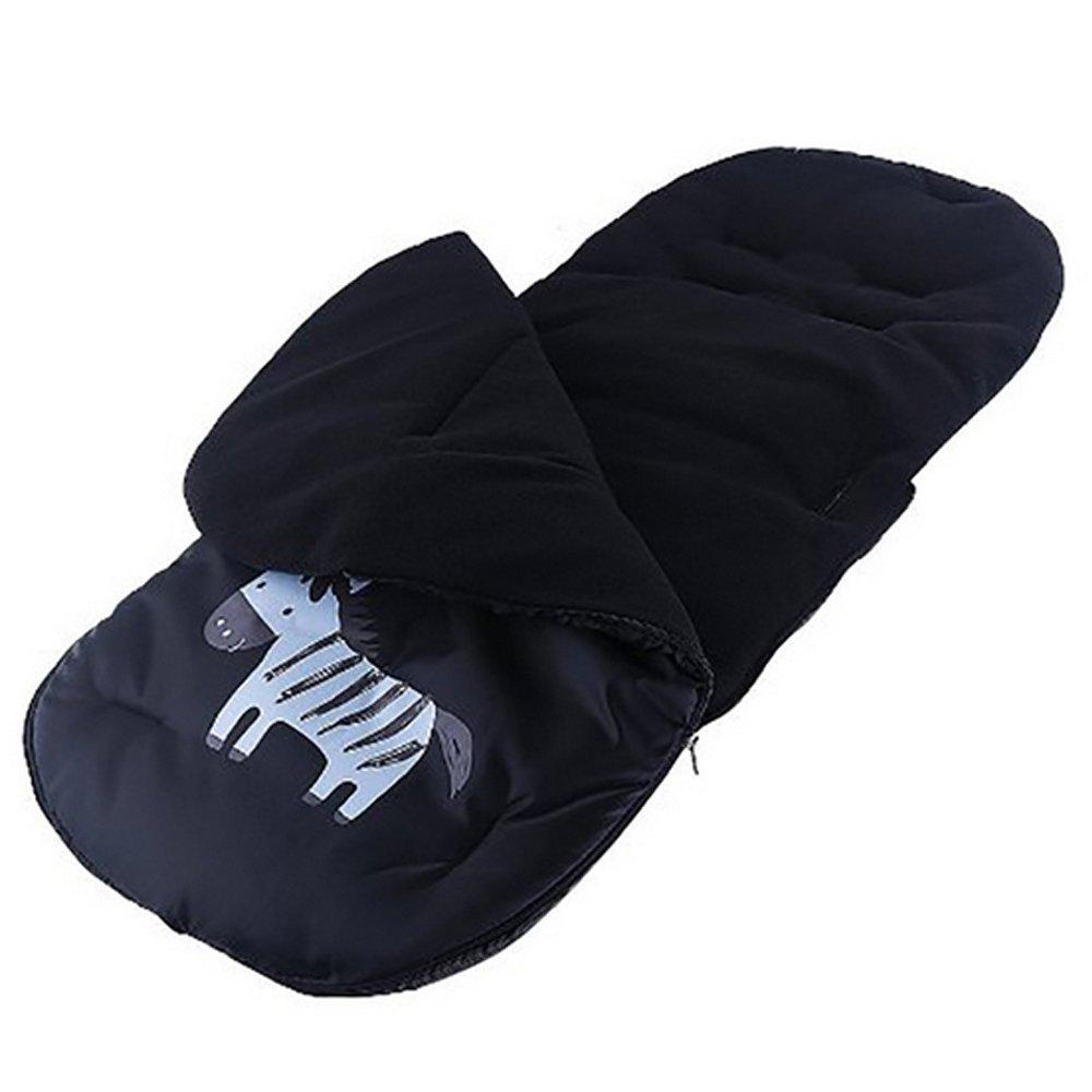 Gosear Saco de bebé para cochecitos de bebé sillas de Paseo o cunas Negro: Amazon.es: Hogar