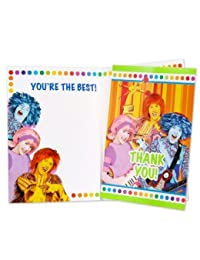 Doodlebops Thank You Notes - 8/Pkg. BOBEBE Online Baby Store From New York to Miami and Los Angeles