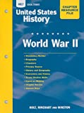 Holt Social Studies United States History Chapter Resource File: World War II, , 0030435730