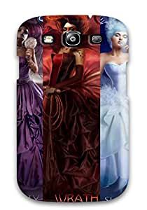 Snap-on Case Designed For Galaxy S3- 7 Deadly Sins Fantasy Abstract Fantasy