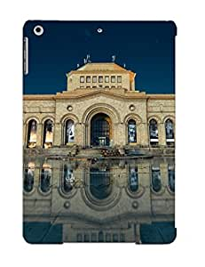 Defender Case With Nice Appearance (armenia Yerevan Building Reflection In) For Ipad Air / Gift For New Year's Day