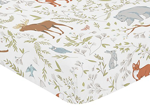 Fitted Woodland Toddler Bedding Collection product image