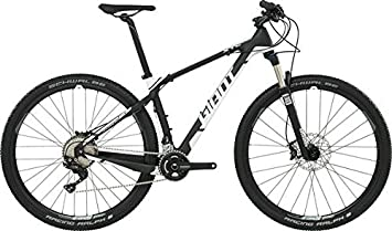 Giant XTC Advanced 29er 2 LTD - Bicicleta de montaña (29 pulgadas), color negro y blanco (2016), 44: Amazon.es: Deportes y aire libre