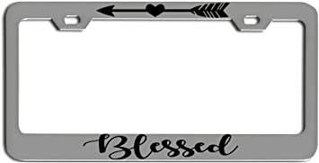 JESUS GOD Mirror Laser License Plate Blessed, Religious