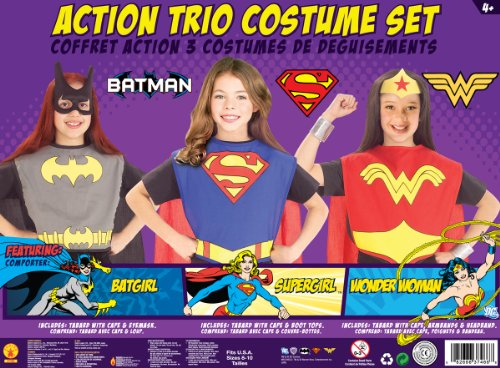 Action Trio Costume Set (Trio Halloween Costumes For Girls)