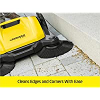 Karcher Outdoor Push Sweeper - edges and corners