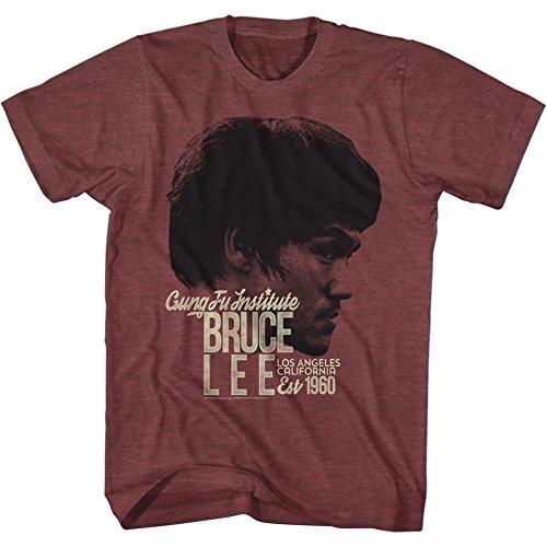 Bruce-Lee-Est1960-camiseta-de-los-hombres-de