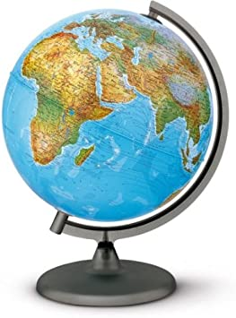 Globus mit Beleuchtung Durchmesser = 30 cm Orion Schüler