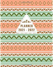 2021-2022 Monthly Planner: 2 Year Monthly Planner Calendar Schedule Organizer January 2020 to December 2021 With Holidays and inspirational Quotes ... 8.5x11, 24 Months Jan 2021 to Dec 2022