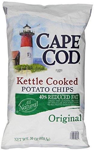 Cape Cod Original Reduced Fat Potato Chips, 30 Ounce (Salt Chips Low Potato)