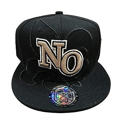 LEADER OF THE GAME New Orleans Black Hat with Fleur-De-Les in Saints Colors Gold & Black Era.