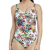 Fantasie Swim Margarita Island UW V-Neck Adjustable Leg Swimsuit (34F, Multi)