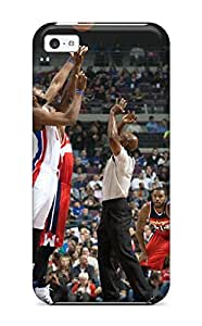 Fashion Tpu Case For Iphone 5c- Detroit Pistons Basketball Nba (3) Defender Case Cover