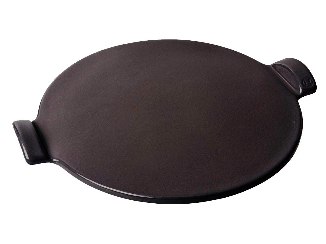 Emile Henry 797514 Pizza Stone Round 14.5'', Charcoal by Emile Henry