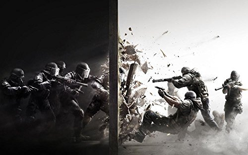 Tomorrow sunny Tom clancys rainbow six siege 24x36 inch Silk