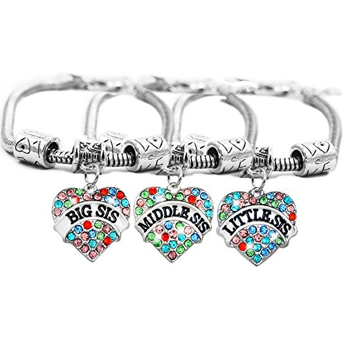 Boosic Crystal Little Middle Bracelet