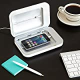 PhoneSoap Charger White - Phone UV Sanitizer & Universal Charger
