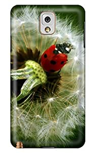 Online Designs Dandelion and Beetle PC Hard new case for galaxy note3