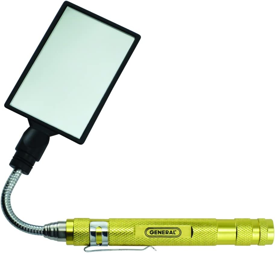 General Tools 90557 Telescoping Round Inspection Mirror 23 inches