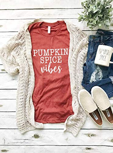 Fun Womens Fall Clothing - Seasonal Autumn Outfit - Thanksgiving Clothes - Pumpkin Picking Vibes - Cute Girls Clothes ()