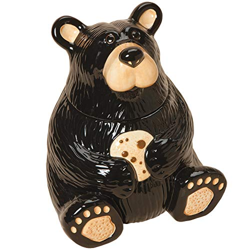(Black Bear Cookie Jar)