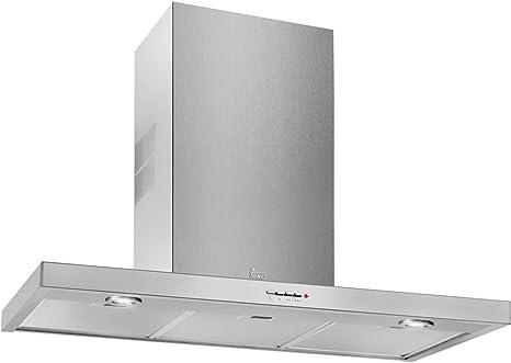 Teka DJ 650 De pared Acero inoxidable 380m³/h E - Campana (380 m³/h, Canalizado, F, F, D, 49 dB): Amazon.es: Grandes electrodomésticos