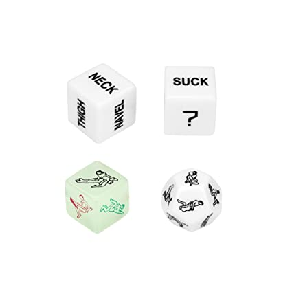 amazon com free islands 4 pcs dices novelty funny dice game gift
