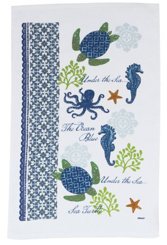 Beau Kay Dee Designs R2500 Sea Turtle Terry Towel