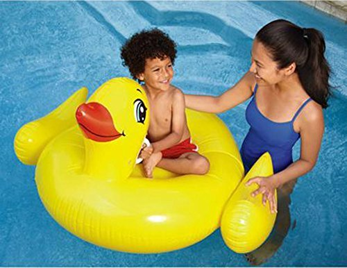 (Ride On Inflatable Duck Pool Float)